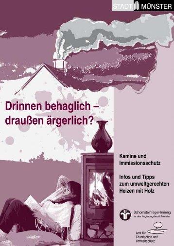 Broschüre: Drinnen behaglich - draußen ärgerlich? - Stadt Münster