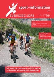 Ausgabe 01/2007 - SVSE Schweiz. Sportverband öffentlicher Verkehr
