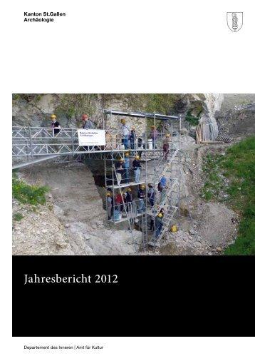 Jahresbericht 2012 (945 kB, PDF) - Kanton St.Gallen