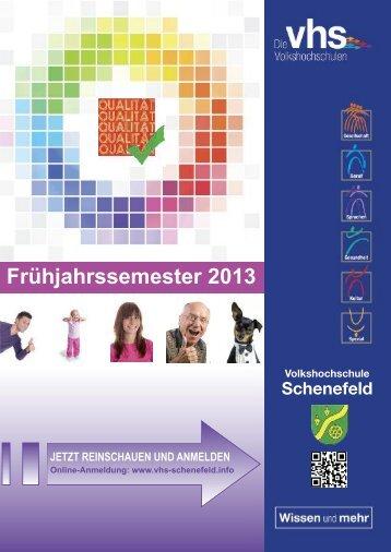 Gesundheit und Fitness - Volkshochschule der Stadt Schenefeld