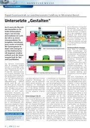 """Untersetzte """"Gestalten"""" - Harmonic Drive AG"""