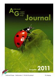 Gruppe roupe Ausgabe Andermatt - Andermatt Biocontrol ...