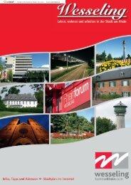 Neubürgerbroschüre 2012 - Stadt Wesseling