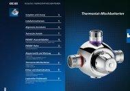 6.PREMIX Thermostatmischbatterien.pdf - Delabie