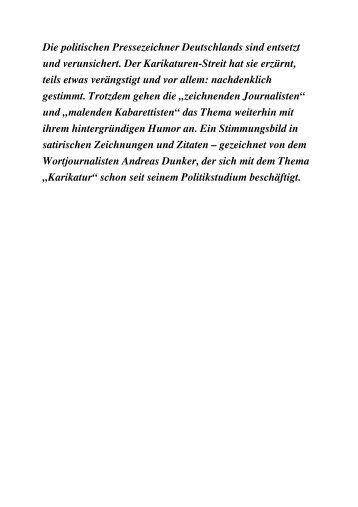 Kopfgeld contra Karikaturen (A. Dunker) - Bildagentur für Cartoon ...