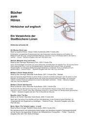 39. Hoerbuchenglisch.pdf - Stadt Lünen
