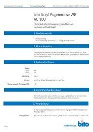 Technisches Datenblatt AC 100 - Bito AG