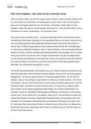 Referat: Begrüssung und Einführung, Regierungsrat Joachim Eder ...