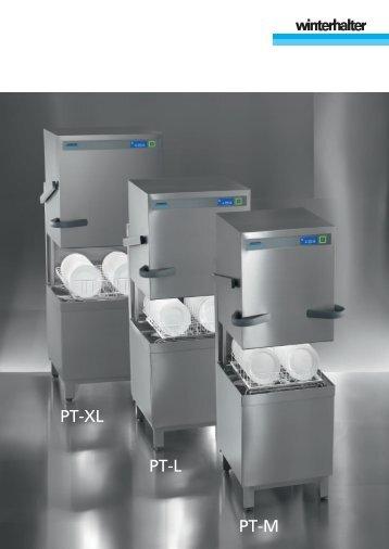 Download Winterhalter Bedienungsanleitung PT-M_PT-L_PT-XL
