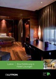Lutron | Eine Einführung in Hotel-Lösungen