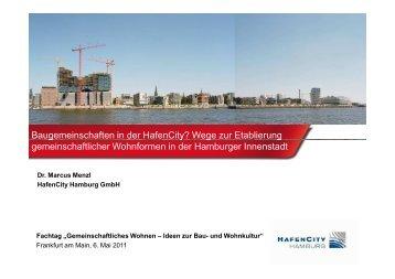 HafenCity - Netzwerk Frankfurt für gemeinschaftliches Wohnen eV