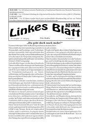 Ausgabe Nr. 09 vom 14. Mai 2013 - DIE LINKE. Halle /Saale