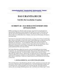 Das Urantia Buch - Schrift 68 - Das Heraufdämmern der Zivilisation