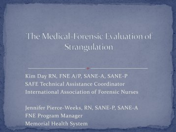 Strangulation Injury
