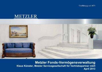 """Anlagestrategie """"30"""" - Pools & Finance"""