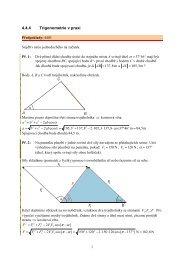 4.4.4 Trigonometrie v praxi α π α π α π - Realisticky cz