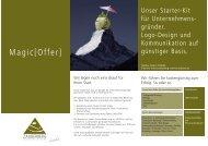 Starter-Kit - Zauberberg Communications