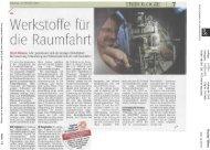 Kurierartikel AAC vom 24.08.2012 - beim TFZ Wiener Neustadt