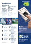Unverwechselbar. Das FingerPrint- Scan-System von CM-PAPP - Seite 2