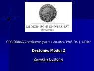 Dystonie Modul 2 (PDF) - ÖDBAG