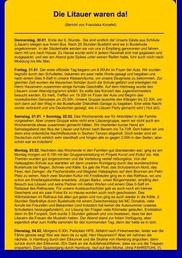 Buxtehude 2003 - Archiv - Halepaghen-Schule