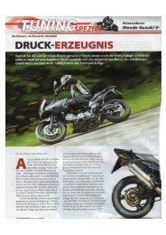 Mende Suzuki DL650 V-Strom aus MOTORRAD 2/2012 im PDF ...