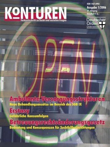 Konturen 1-06.indd - FB Sozialwesen / FH Jena - Fachhochschule ...