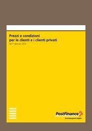Prezzi e condizioni per le clienti e i clienti privati