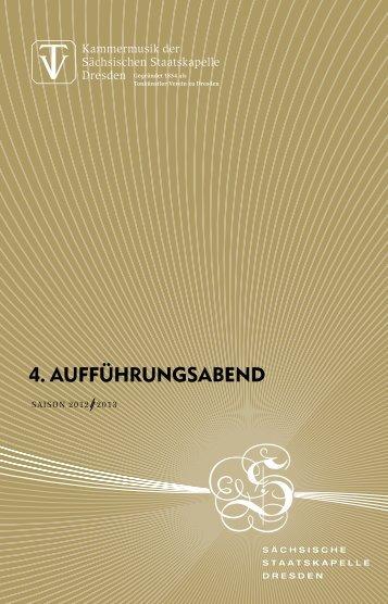 Programmheft als PDF - Staatskapelle Dresden
