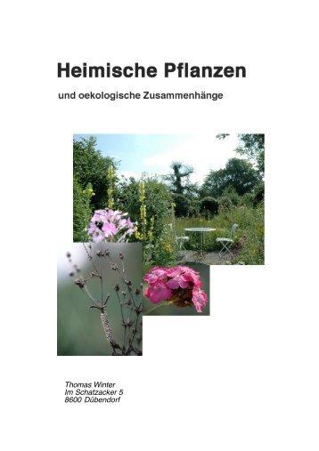 Heimische Pflanzen & Listen - Stiftung Wirtschaft und Ökologie SWO