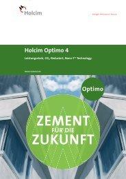 Cover title 28pt. Holcim Optimo 4 - Kieswerk Oldis AG