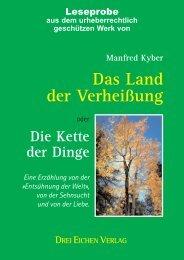 Das Land der Verheißung - Drei Eichen Verlag