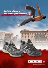 Safety shoes – the next generation