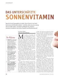 Spektrum Wissenschaft Vitamin D