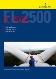 Technische Daten - Windenergie Lindenberg