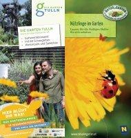 Nützlinge im Garten - Natur im Garten