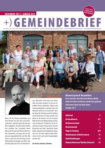 Dezember 2011 | Januar 2012 - kigelo.de