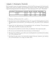 Klausur WS 2010/2011