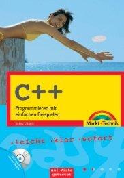 C++ (Inhaltsverzeichnis)