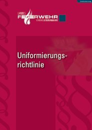 Uniformierungsrichtlinie des LFV Steiermark - Freiwillige Feuerwehr ...