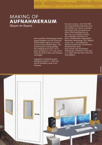 Making of Aufnahmeraum.indd - Mac-Pro-Audio