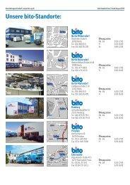 Unsere bito-Standorte: - Bito AG