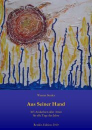 Aus seiner Hand - Retislit-Edition, Werke von Dr. Prof. Werner S ...