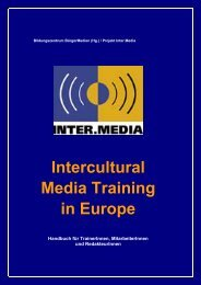 Das Intercultural Media Training - Verband Freier Radios Österreich