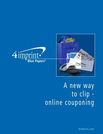 online Couponing - 4imprint Promotional Products Blog