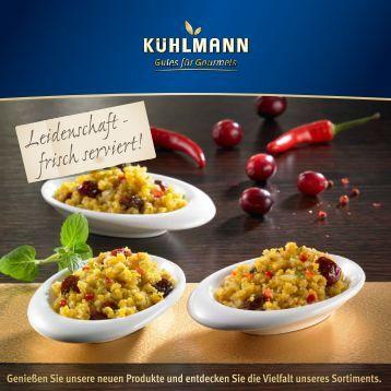 Gourmetkatalog 2013 - Kühlmann