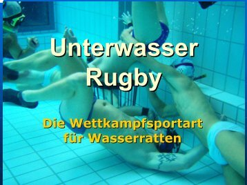 Präsentation_Unterwasserrugby - Wordpress Wordpress