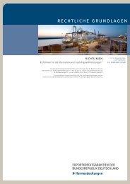 Richtlinien für die Übernahme von ... - AGA-Portal