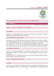 1 Friedensverein HAND in HAND EINE LITERARISCHE ...