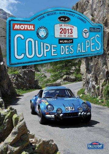 27 726 m de dénivélation Coupe des alpes 2013 ... - Rallystory